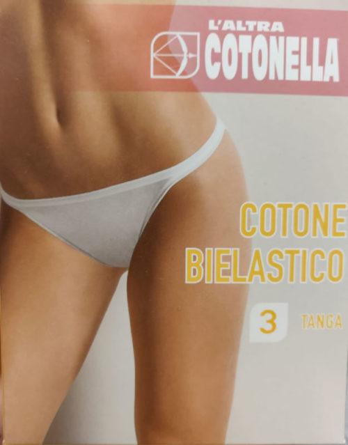 L'altra cotonella 3 tanga, Cotone bielastico - Intimo Altieri Shop online Salerno